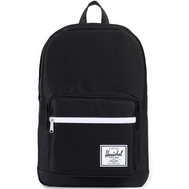 Рюкзак HERSCHEL Pop Quiz BLACK/BLACK SYNTHETIC LEATHER, фото 1