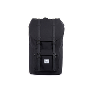Рюкзак HERSCHEL LITTLE AMERICA Black/Black synthetic leather, фото 1