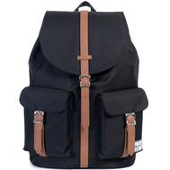 Рюкзак HERSCHEL DAWSON Black/Tan Synthetic Leather, фото 1