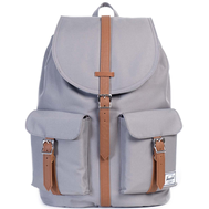 Рюкзак HERSCHEL DAWSON GREY/TAN SYNTHETIC LEATHER, фото 1