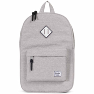 Рюкзак HERSCHEL Heritage Light Grey Crosshatch/White Rubber/Blueprint strip, фото 1