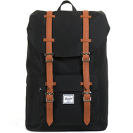 Рюкзак HERSCHEL LITTLE AMERICA Black/Tan Synthetic Leather, фото 1