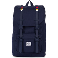Рюкзак HERSCHEL Little America Mid-Volume Peacoat/Rainbow Chevron Rubber, фото 1
