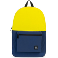 Рюкзак HERSCHEL PACKABLE DAYPACK Neon Yellow Reflective/Peacoat Reflective, фото 1