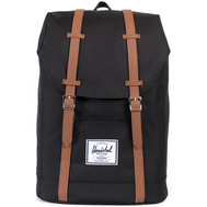 Рюкзак HERSCHEL RETREAT Black/Tan Synthetic Leather, фото 1