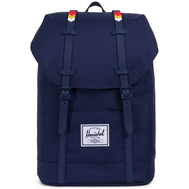 Рюкзак HERSCHEL RETREAT Peacoat/Rainbow Chevron Rubber, фото 1