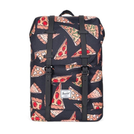 Рюкзак HERSCHEL RETREAT YOUTH BLK PIZZA, фото 1
