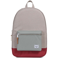 Рюкзак HERSCHEL Settlement Light Khaki Crosshatch/Shadow/Brick Red, фото 1