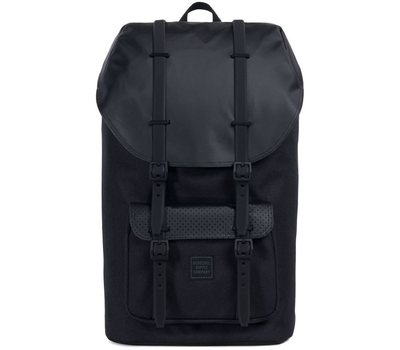 Рюкзак HERSCHEL LITTLE AMERICA  Black/Black Rubber2, фото 1