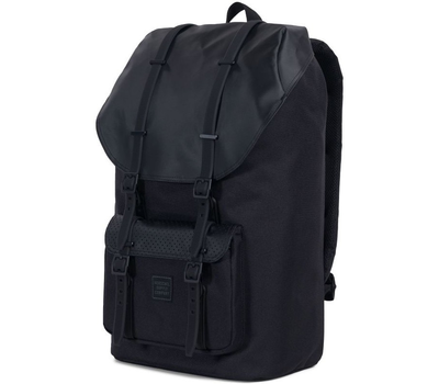 Рюкзак HERSCHEL LITTLE AMERICA  Black/Black Rubber2, фото 2