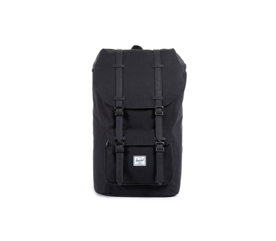 Рюкзак HERSCHEL LITTLE AMERICA Black/Black synthetic leather, фото 1