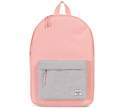 Рюкзак HERSCHEL Classic Mid-Volume Peach/Light Grey Crosshatch, фото 1