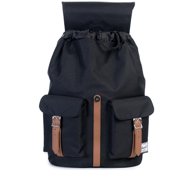 Рюкзак HERSCHEL DAWSON Black/Tan Synthetic Leather, фото 3