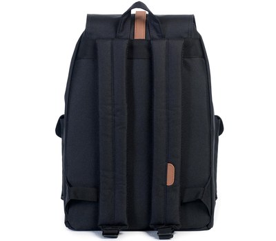 Рюкзак HERSCHEL DAWSON Black/Tan Synthetic Leather, фото 4