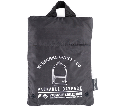 Рюкзак HERSCHEL PACKABLE DAYPACK Black2, фото 3