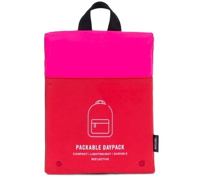 Рюкзак HERSCHEL PACKABLE DAYPACK Neon Pink Reflective/Red Reflective, фото 3