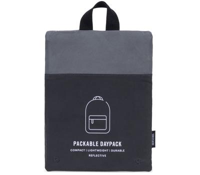 Рюкзак HERSCHEL PACKABLE DAYPACK Silver Reflective/Black Reflective, фото 3