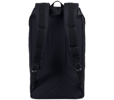 Рюкзак HERSCHEL LITTLE AMERICA  Black/Black Rubber2, фото 4