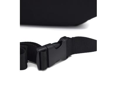 Сумка поясная QINEN Alpha Black черная, фото 2