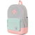 Рюкзак HERSCHEL HERITAGE YOUTH Light Grey Crosshatch/Yucca/Peach Rubber, фото 2